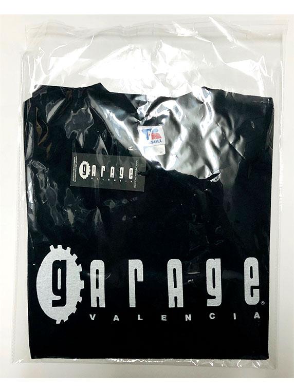 bag tshirt garage black white front