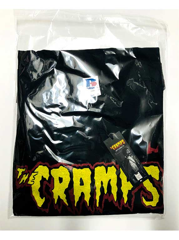 bag tshirt the cramps black front