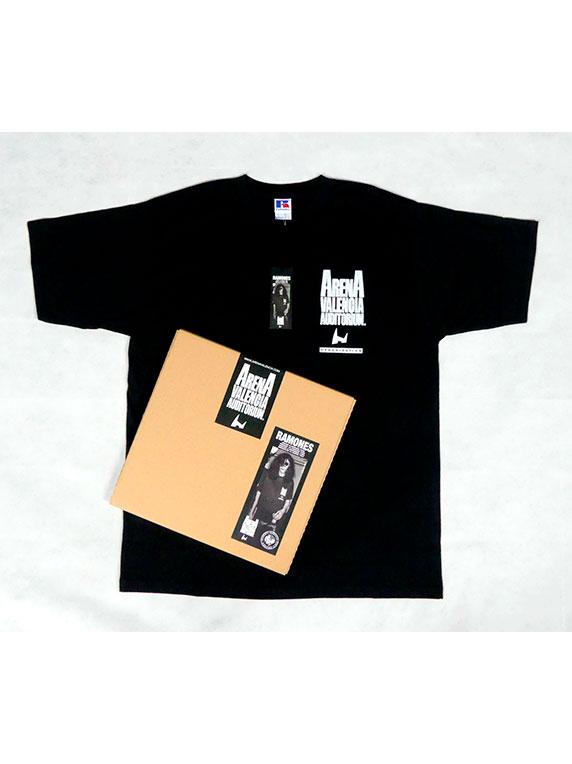 box tshirt ramones black front
