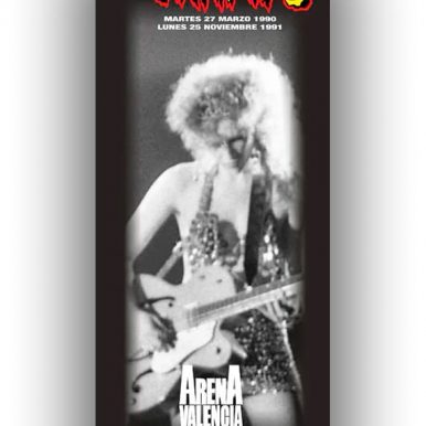 BANNER THE CRAMPS 1990 – POISON IVY