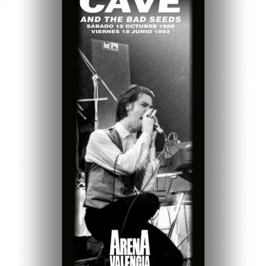 BANNER NICK CAVE